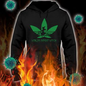 Adidas weed world's dopest witch hoodie