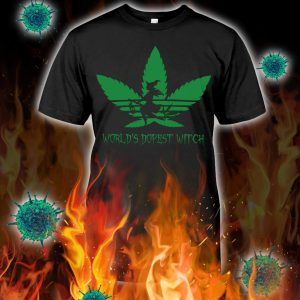Adidas weed world's dopest witch shirt