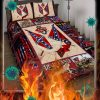 Confederate American History Quilt Bedding Set