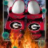 Georgia bulldogs crocband crocs shoes