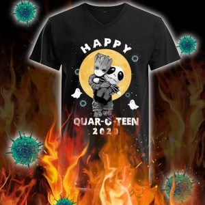 Groot hug jack happy quar-o-teen 2020 v-neck