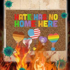 Hate has no home here doormat