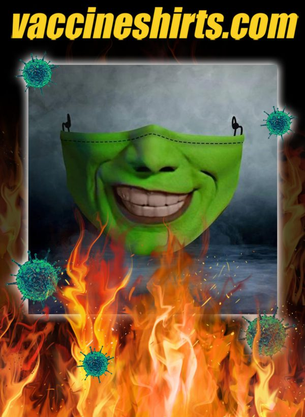 Jim carrey the mask face mask