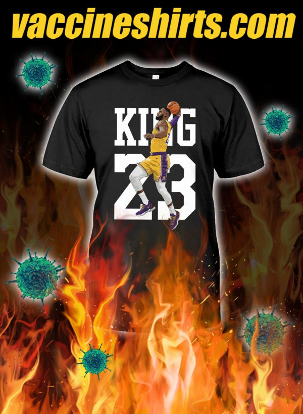 Lebron james king 23 shirt
