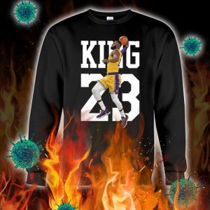 Lebron james king 23 sweatshirt
