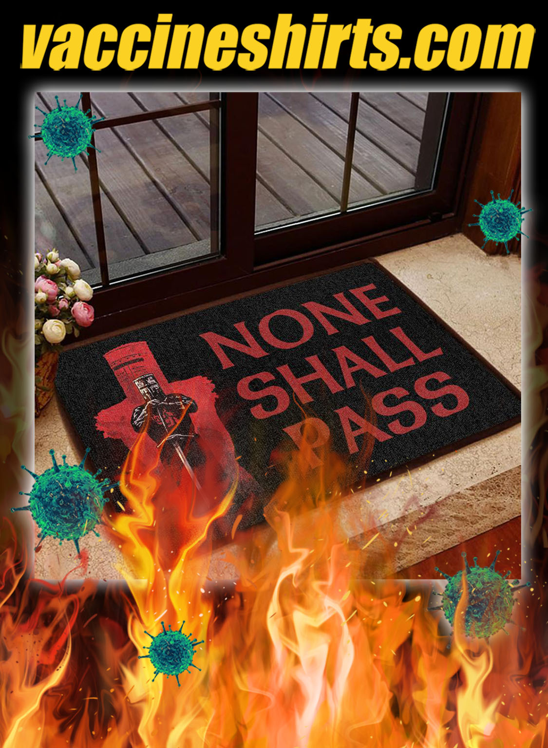 None shall pass doormat - pic 1