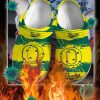 Oregon ducks crocband crocs shoes