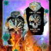 Skull I bet my soul smells like weed all over printed 3d hoodie