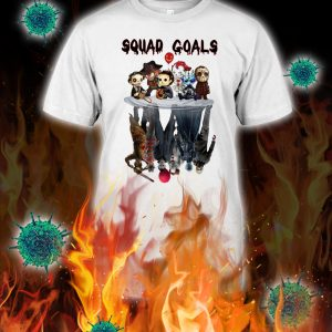 Squad goals horror killer reflection shirt