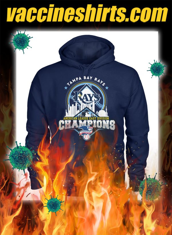 Tampa bay rays american league east division champions hoodie