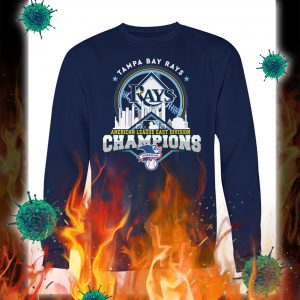 Tampa bay rays american league east division champions sweatshirt