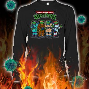 Teenage mutant ghost busters longsleeve teeTeenage mutant ghost busters longsleeve tee