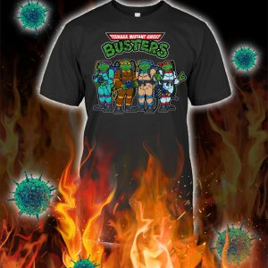 Teenage mutant ghost busters shirt