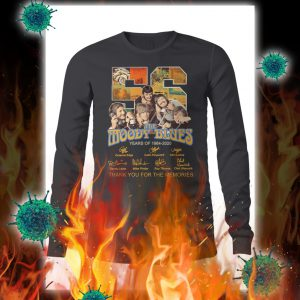 The moody blues thank you for the memories signature longsleeve tee