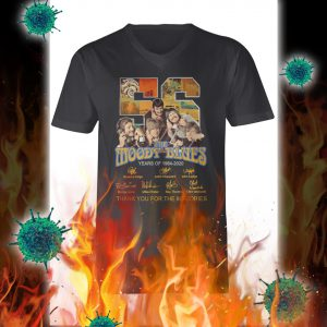 The moody blues thank you for the memories signature v-neck