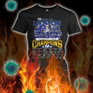 The tampa bay lightning stanley cup champions signature lady shirt
