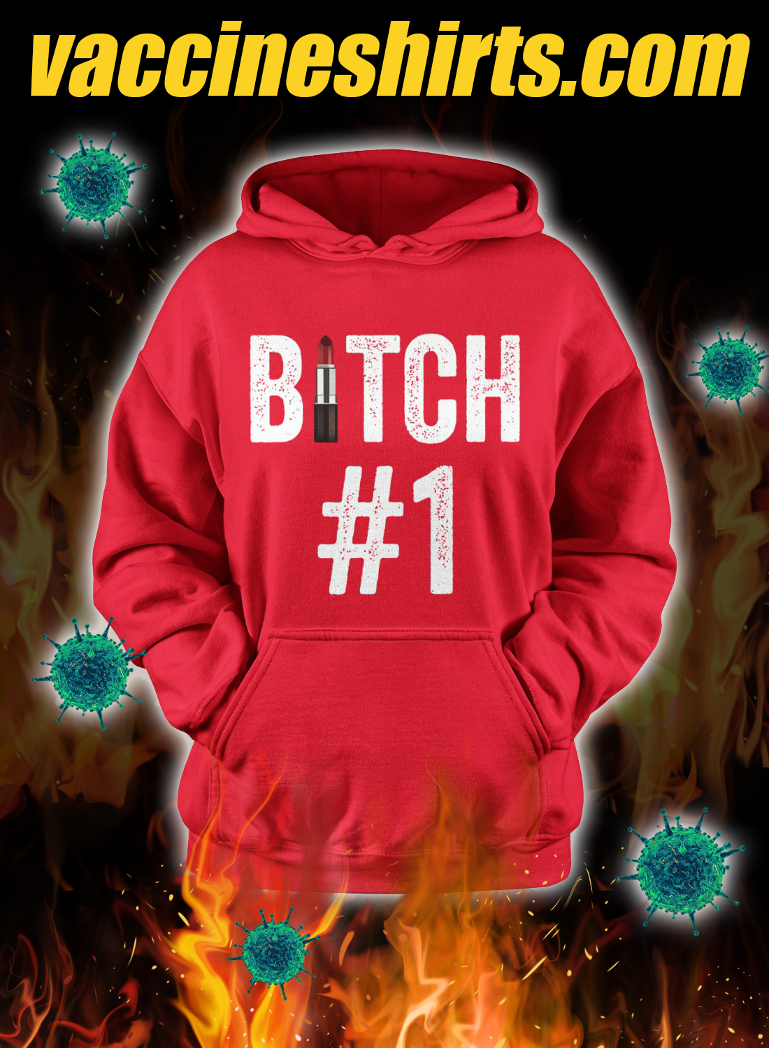 Bitch #1 Bitch #2 Bitch #3 matching friend hoodie 2