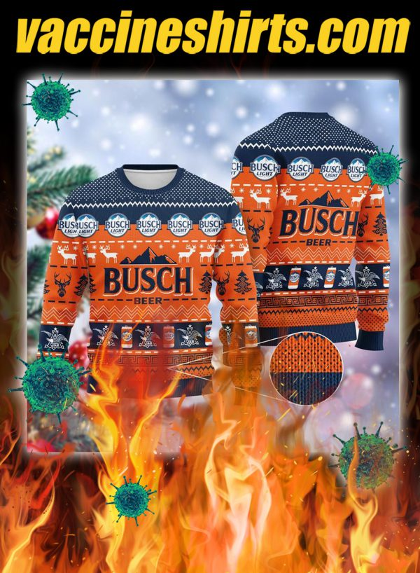 Busch beer 3d christmas sweater- pic 1