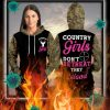 Country girls don't retreat they reload hunt 3d hoodie