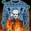 Edgar Allan Poe Poe Poe christmas ugly sweater