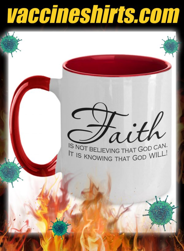 Faith is not believing that god can mug 1