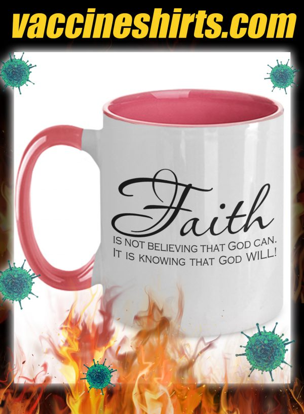 Faith is not believing that god can mug 2
