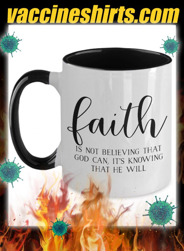Faith is not believing that god can mug