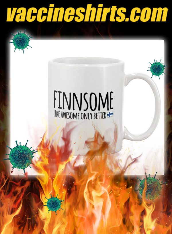 Finnsome like awesome only better mug