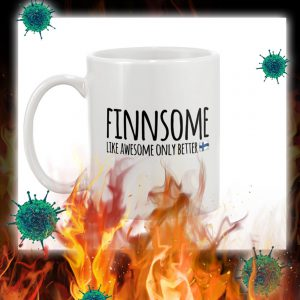 Finnsome like awesome only better mug- pic 1