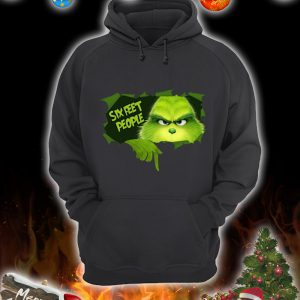 Grinch inside six feet people hoodie