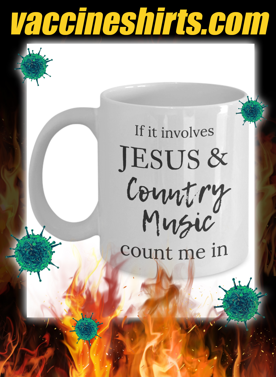 If it involves jesus and country music count me in mug 3