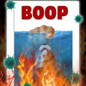 Jaws Otter boop poster
