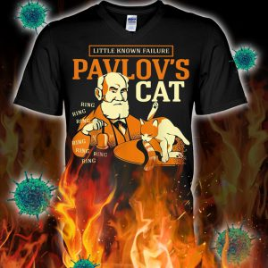 Little known failure pavlov's cat v-neck