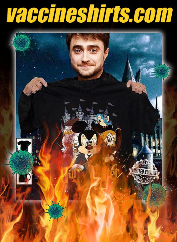 Mickey disney character harry potter shirt- pic 1