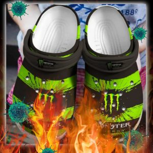 Monster energy crocs crocband shoes - pic 1