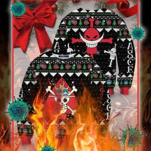 One piece logo christmas ugly sweater