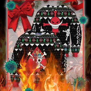 One piece logo christmas ugly sweater- pic 1