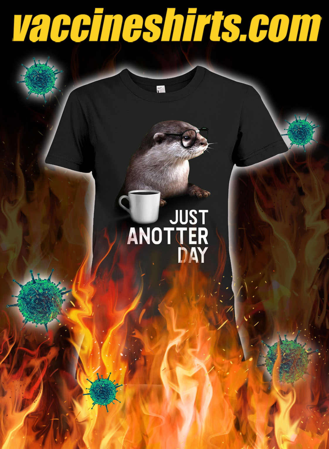 Otter just anotter day lady shirt