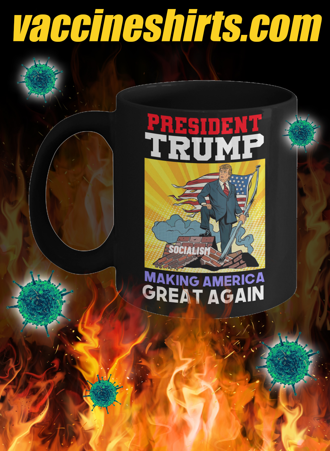 President trump making america great again mug 2