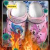 Stitch And Angel custom name crocs crocband shoes