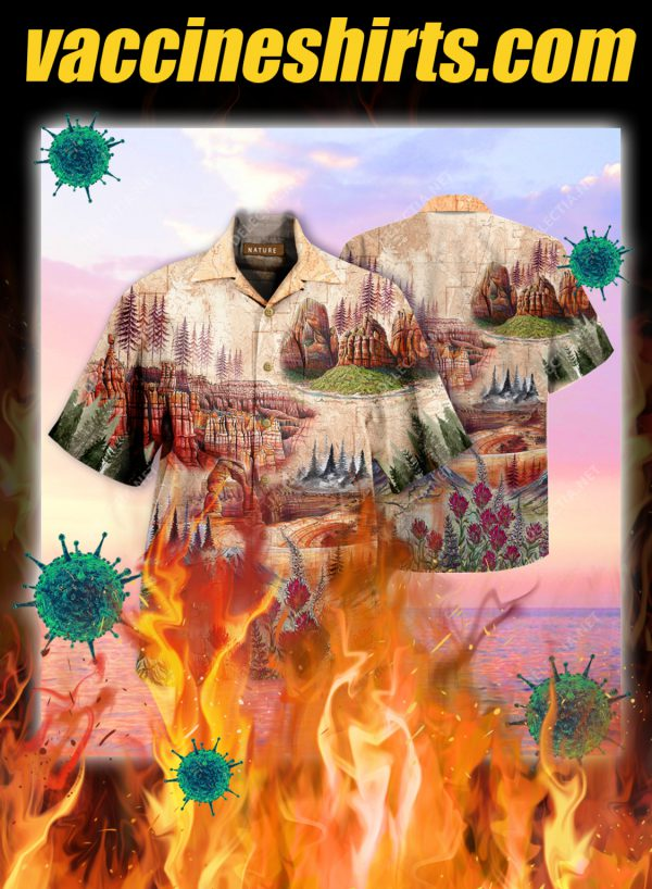 Amazing Landscape In National Parks Unisex Hawaiian Shirt