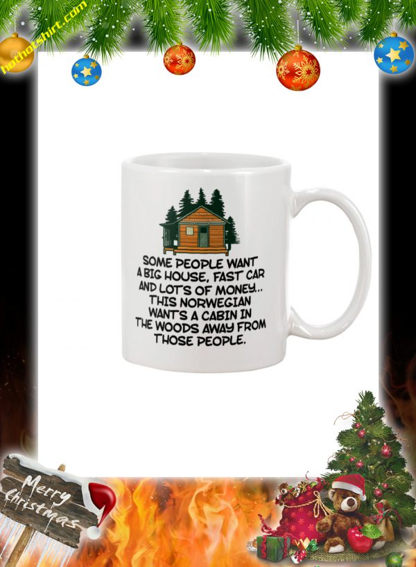 Cabin in the Woods some people want a big house mug 1