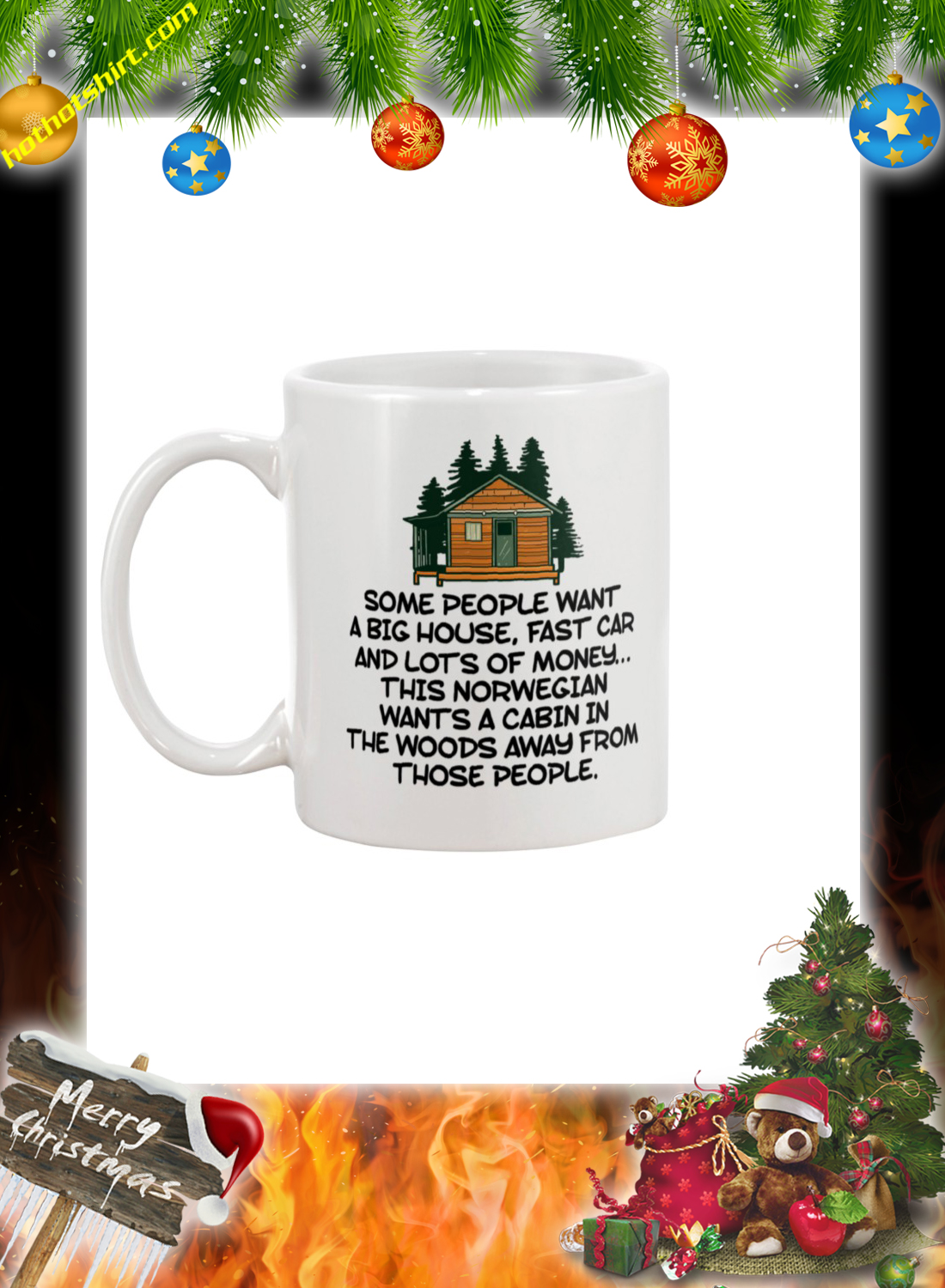 Cabin in the Woods some people want a big house mug 2