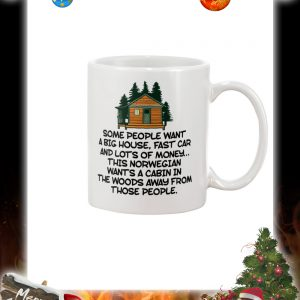 Cabin in the Woods some people want a big house mug