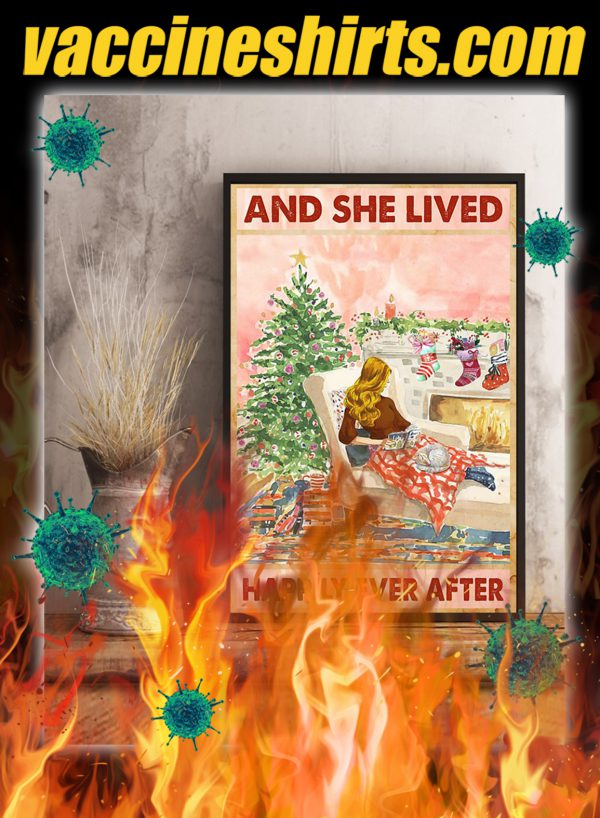 Christmas And She Lived Happily Ever After Poster- A1