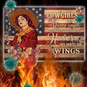 Cowgirls Are God's Wildest Angels Poster