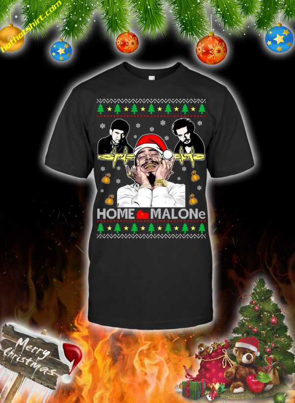 Home malone christmas sweatshirt and jumper 2