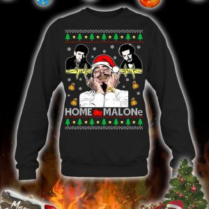 Home malone christmas sweatshirt and jumper