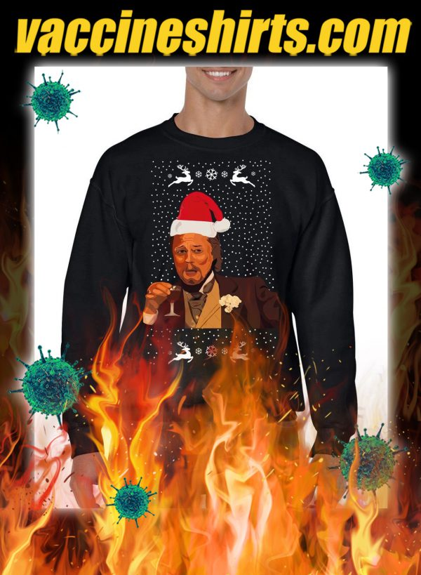 Leonardo DiCaprio Laughing Meme christmas jumper and sweatshirt