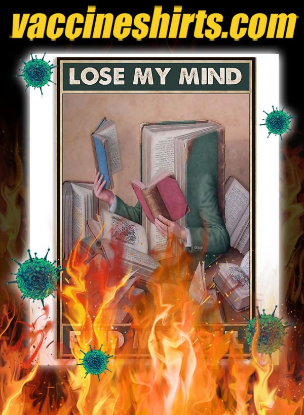 Librarian Lose Your Mind Find Your Soul Poster